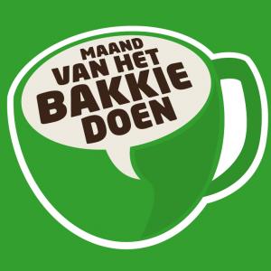 Poster 'Maand van het bakkie doen'