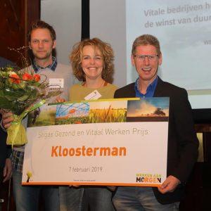Loonwerkbedrijven winnen de Stigas Gezond & Vitaal Werken Prijs!